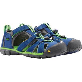 Keen Youth Seacamp II CNX Sandals True Blue/Jasmine Green